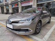 丰田 卡罗拉 2017款 改款双擎 1.8L CVT旗舰版