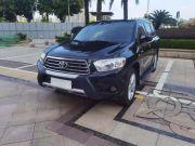 丰田 汉兰达 2012 款 2.7L 自动 两驱 至尊型 7座